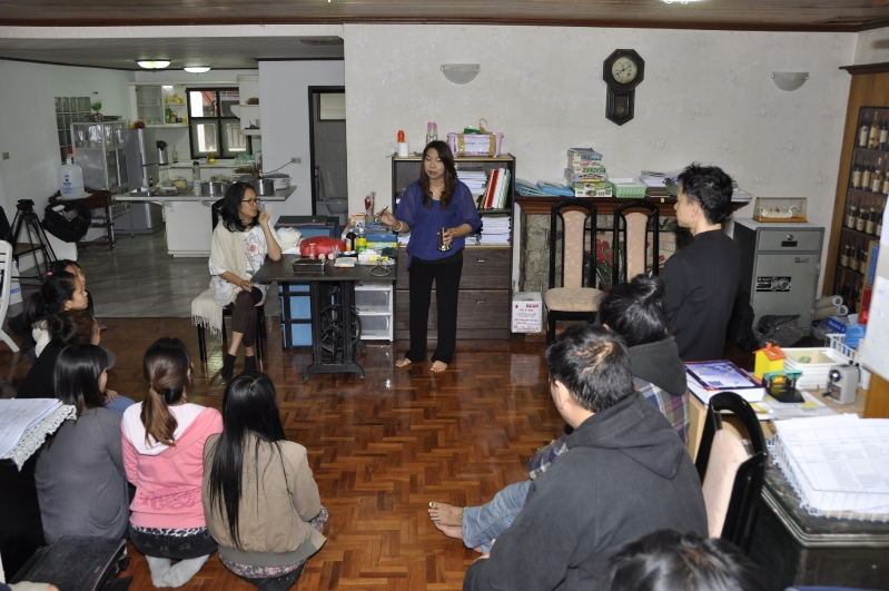 First Aid class for Panyaden School's Teachers', English school in Chiang Mai