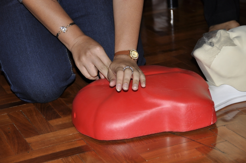 First Aid at bilingual Panyaden School, Thailand