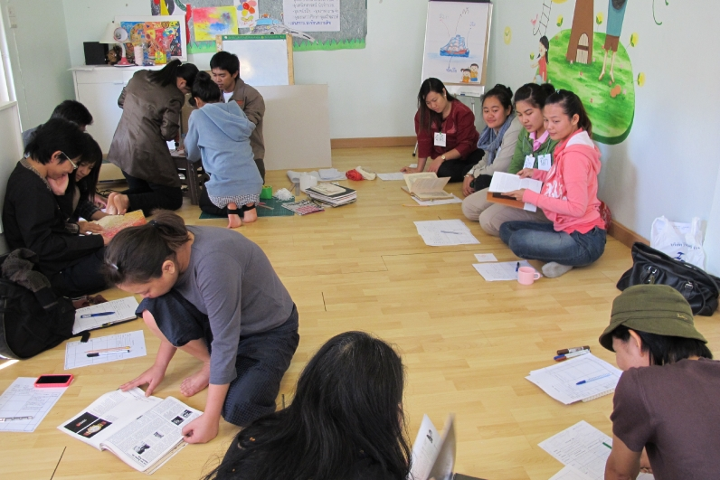 Teachers training (Panyaden School, bilingual school in Chiang Mai)
