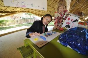 Kindergarten student of Panyaden School, bilingual school in Chiang Mai