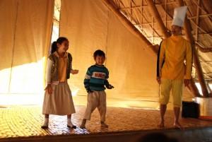Dance demonstration by students of Panyaden School, international school in Chiang Mai