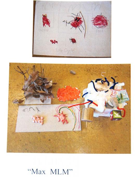 Kindergarten student's science project at Panyaden School, international school in Chiang Mai