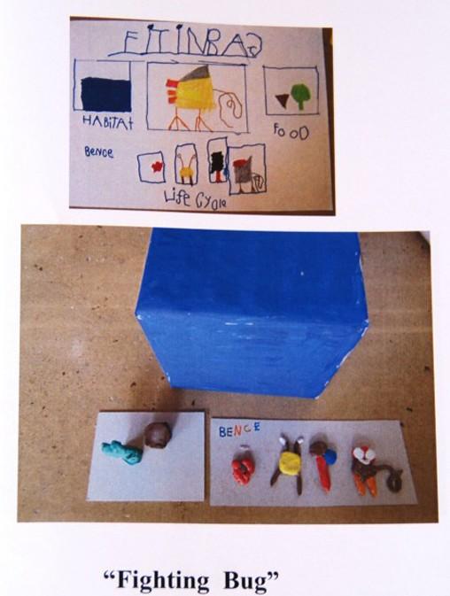 Bilingual school, Panyaden School's Kindergarten student's science presentation