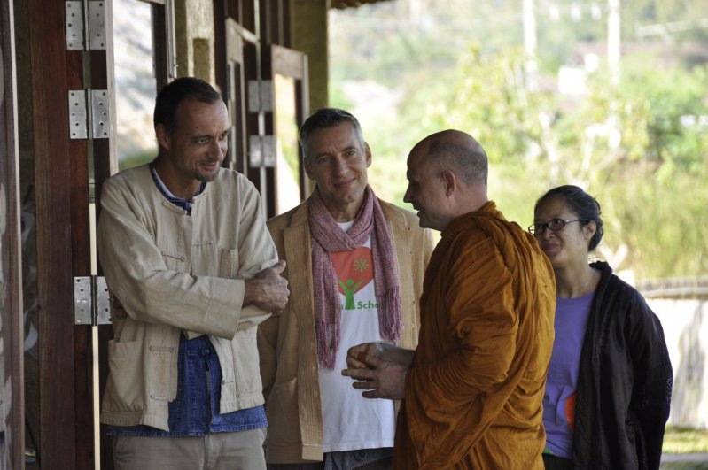 Panyaden's Buddhist Spiritual Advisor, Ajahn Jayasaro visits our school in Chiang Mai
