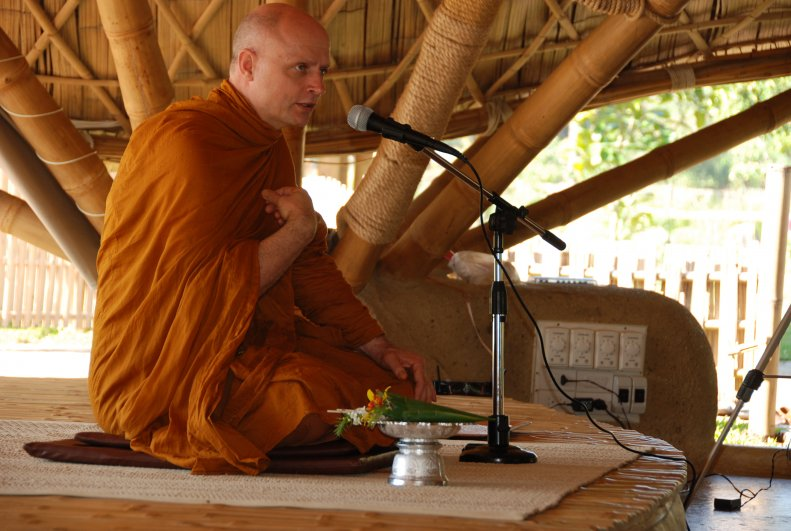 Ajahn Jayasaro, Panyaden School's Buddhist spiritual advisor
