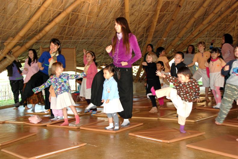 Look! I can do this too! Nursery & kindergarten students of Panyaden, bilingual school in Chiang Mai