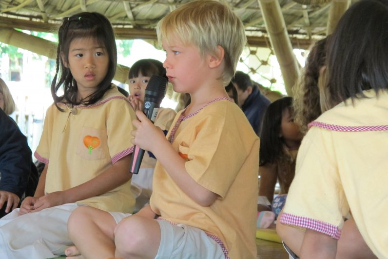 Foreign student at Panyaden School, bilingual international school in CHiang Mai