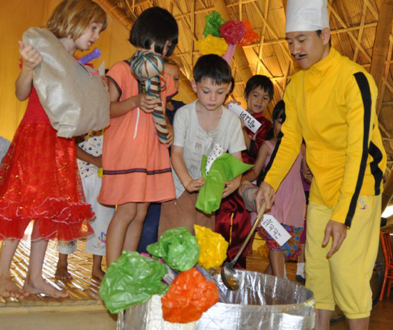 Panyaden School - teahcing in Thai & English, bilingual school in Chiang Mai