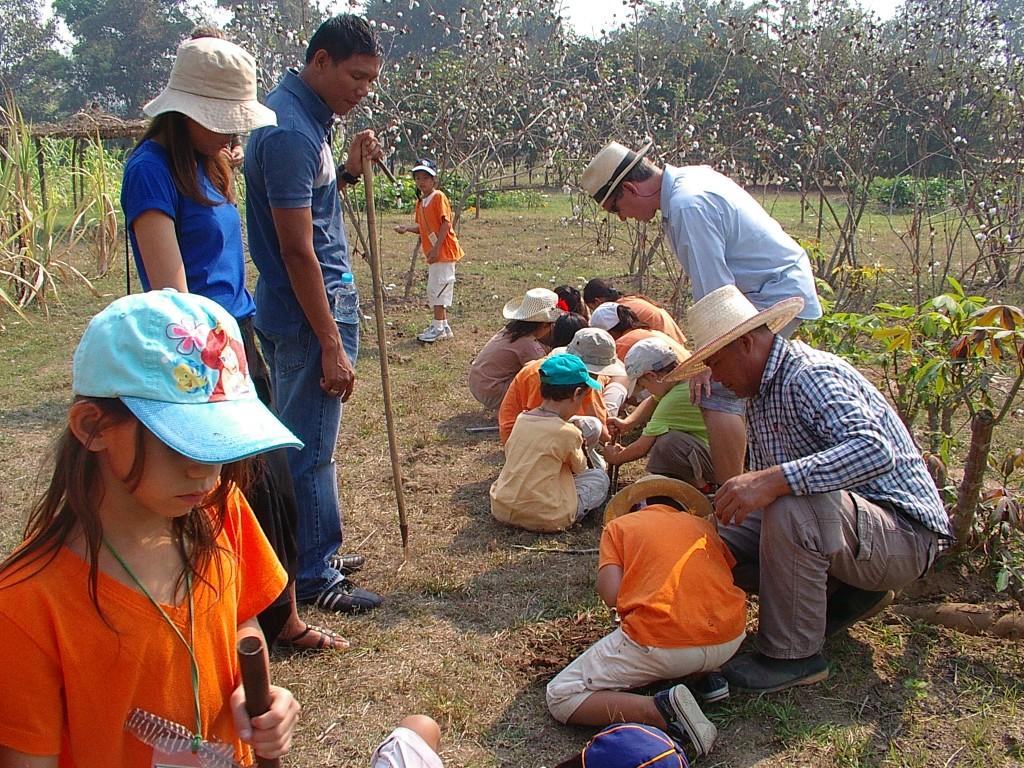 Panyaden School trip to Dokmai Garden, Chiang Mai
