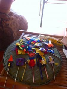 Handicraft for sale - made by Panyaden School students