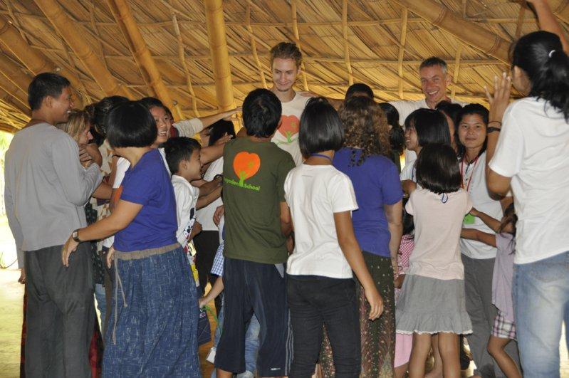 Fun and games at Panyaden Summer School