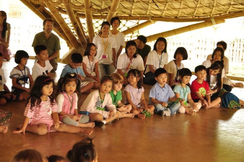 Children at Panyaden School Summer School