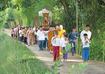 Panyaden School, Chiang Mai's bilingual and green school official opening ceremony. Photo courtesy of Chiang Mai Mail.