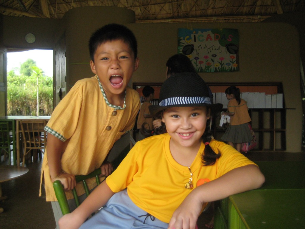 Bilingual students of Panyaden School in Chiang Mai