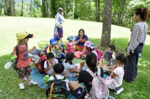 Panyaden Summer School students on field trip to Queen Sirikit Botanic Garden