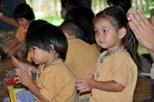 Kindergarten students of Panyaden School in Chiang Mai