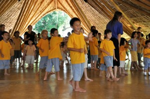 Thai and expat students of Panyaden, international school in Chiang Mai