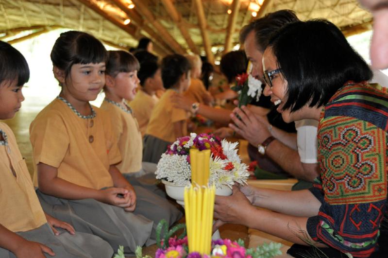 Bilingual school in Chiang Mai, Panyaden, celebrates Teachers' Day (Wai Kru Day)