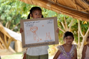 Student presentation at Panyaden School Chiang Mai