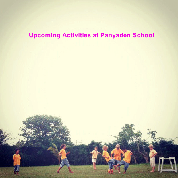 Student activities and games at Panyaden School Chiang Mai
