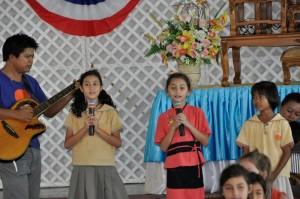 Community service visit by prathom students, Panyaden School Chiang Mai