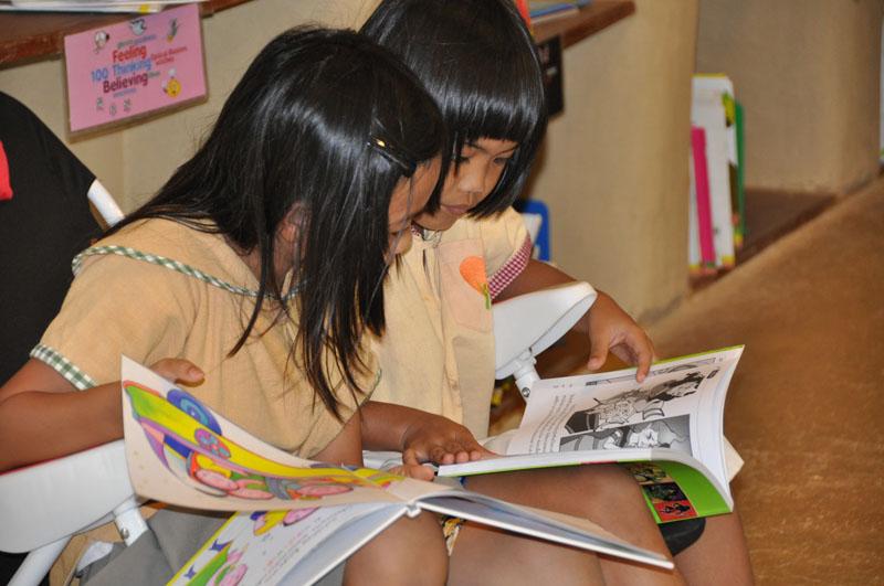 Reading Week at Panyaden School Chiang Mai