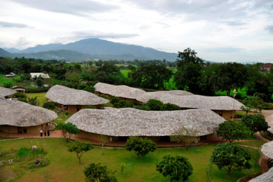 Photo by ALly Taylor of Panyaden School Chiang Mai from the top