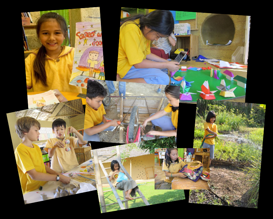 Panyaden School student self-directed project