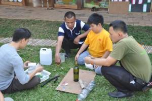 Panyaden School primary student self-directed project - flying rocket