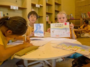 Panyaden School primary student self-directed project: storybooks