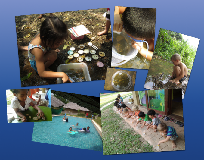 Panyaden Summer School students in Chiang Mai