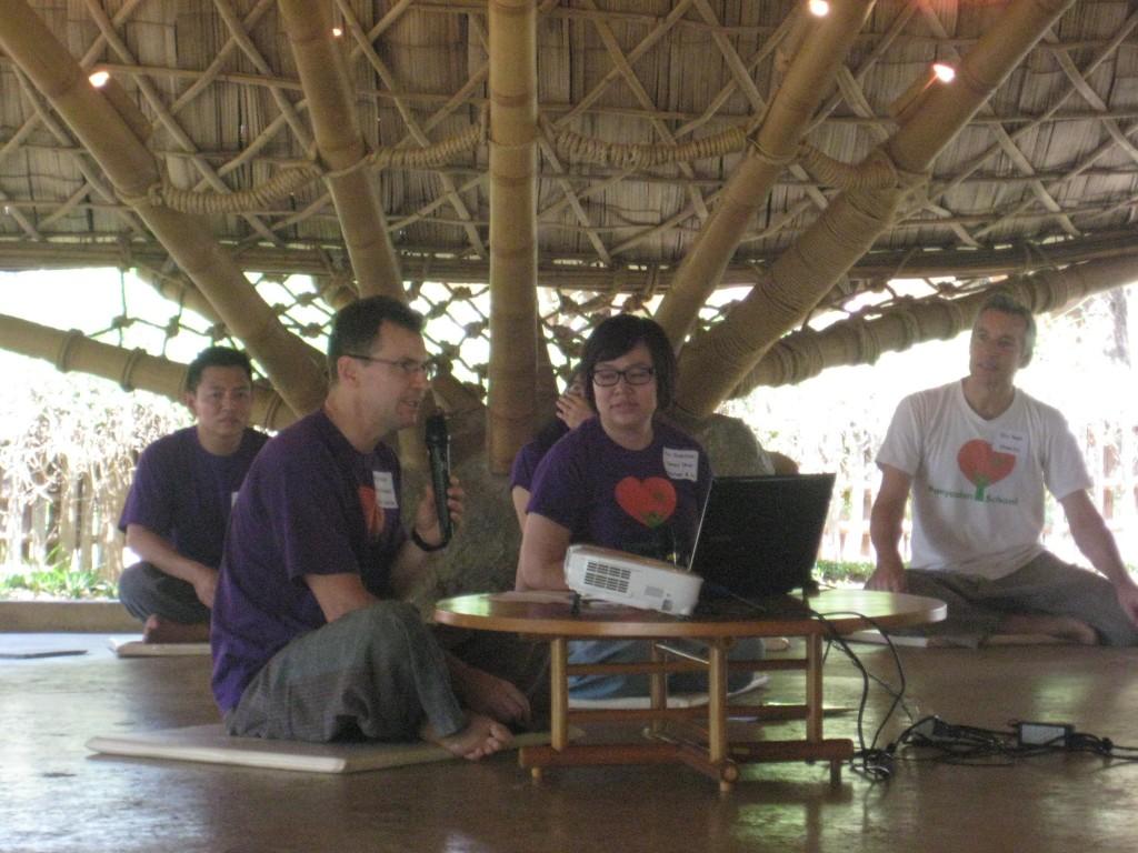 IMG_0289 Head teachers of Panyaden School addressing new parents on Orientation Day