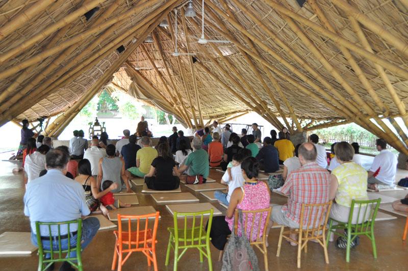 dsc_2096 Dhamma talk for parents, Panyaden School Chiang Mai