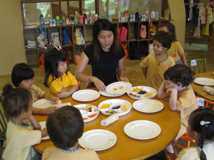 IMG_3422 K1 class learns about emotions, Panyaden School Chiang Mai