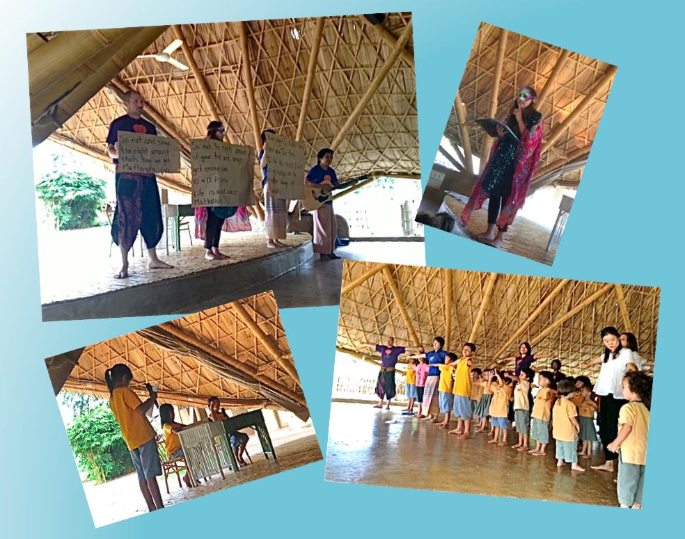 Mattanuta session at Panyaden School assembly hall