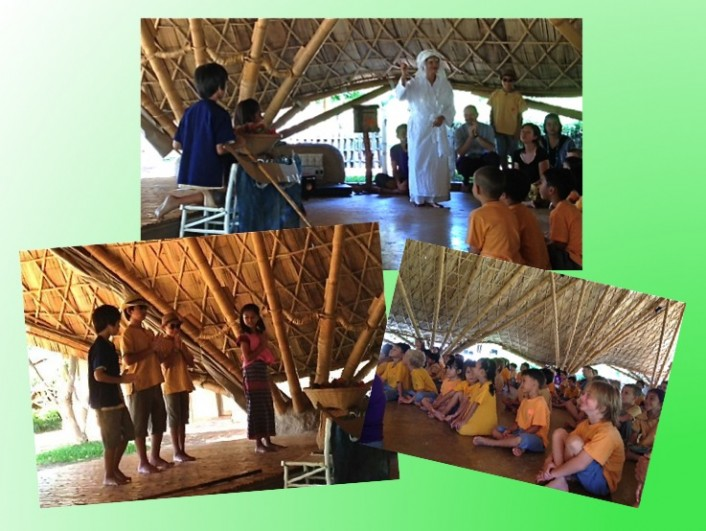 Wise habit, Avihimsa (not harming) session at Panyaden School Chiang Mai