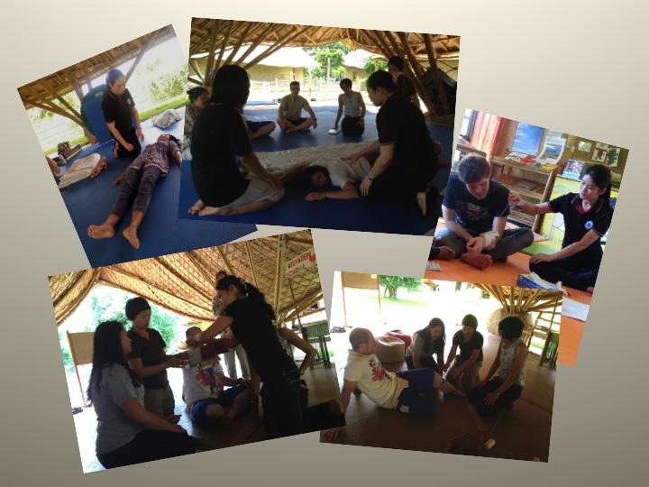 Slide2 Slide1 First aid training for Panyaden School teachers & staff in Chiang Mai 2