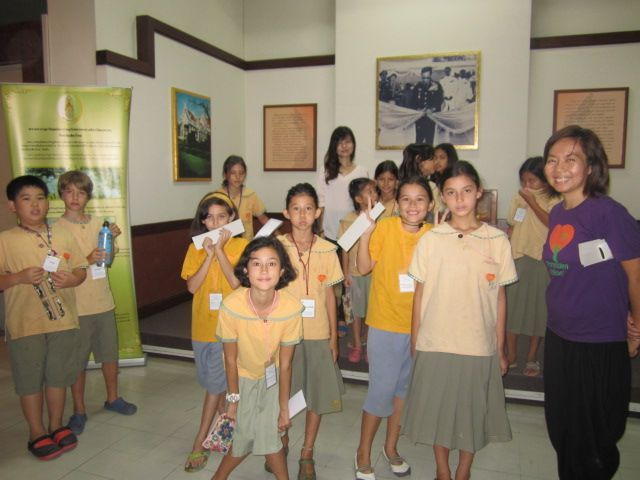 Prathom 4 student field trips to learn about Lanna history & Thai culture, Panyaden School Chiang Mai