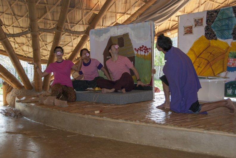 dsc_0883a Stage play by teachers, Panyaden School Reading Week