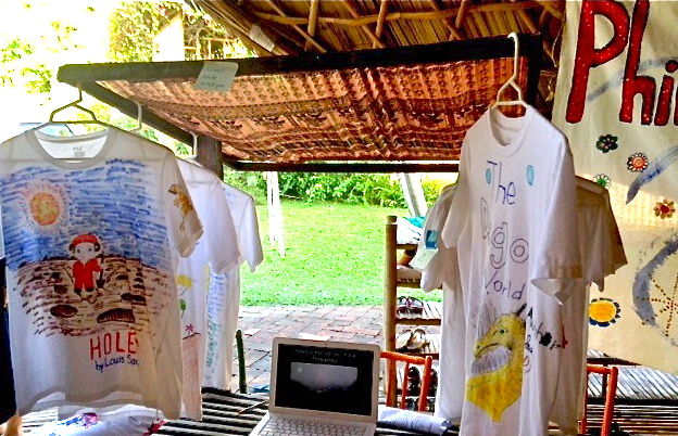 T-shirt sale to raise funds for Philippines Appeal, Panyaden School