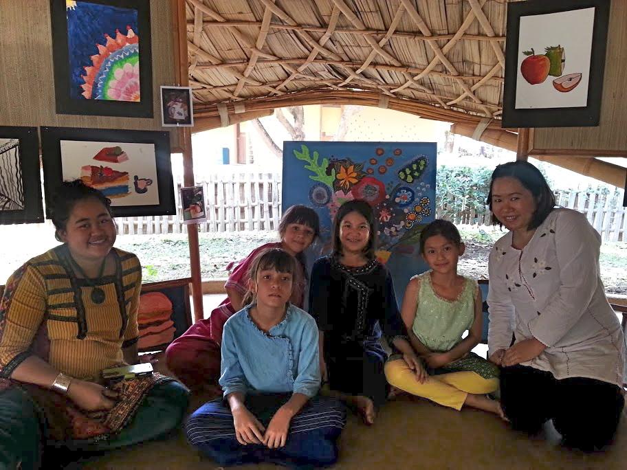 Art team, Panyaden School