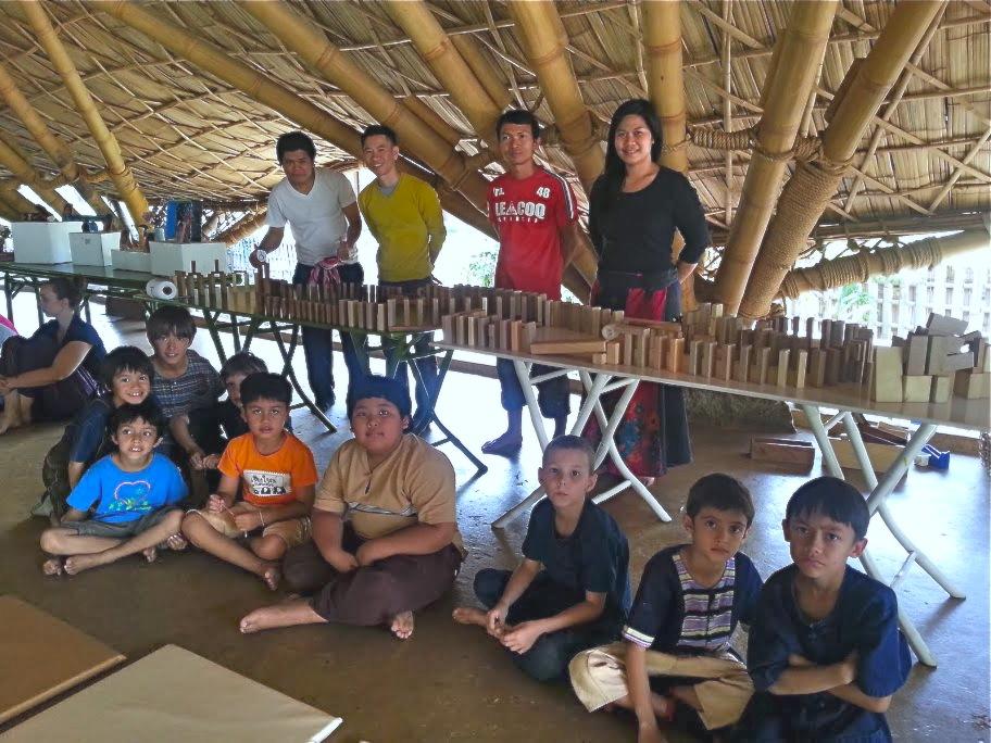 Dominos team, Panyaden School