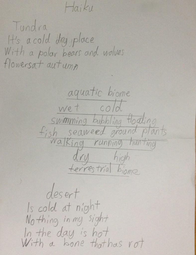 Jack's poems, Panyaden School