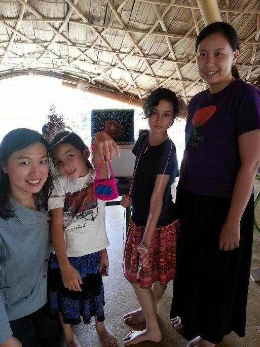 Knitting & Crochet team, Panyaden School