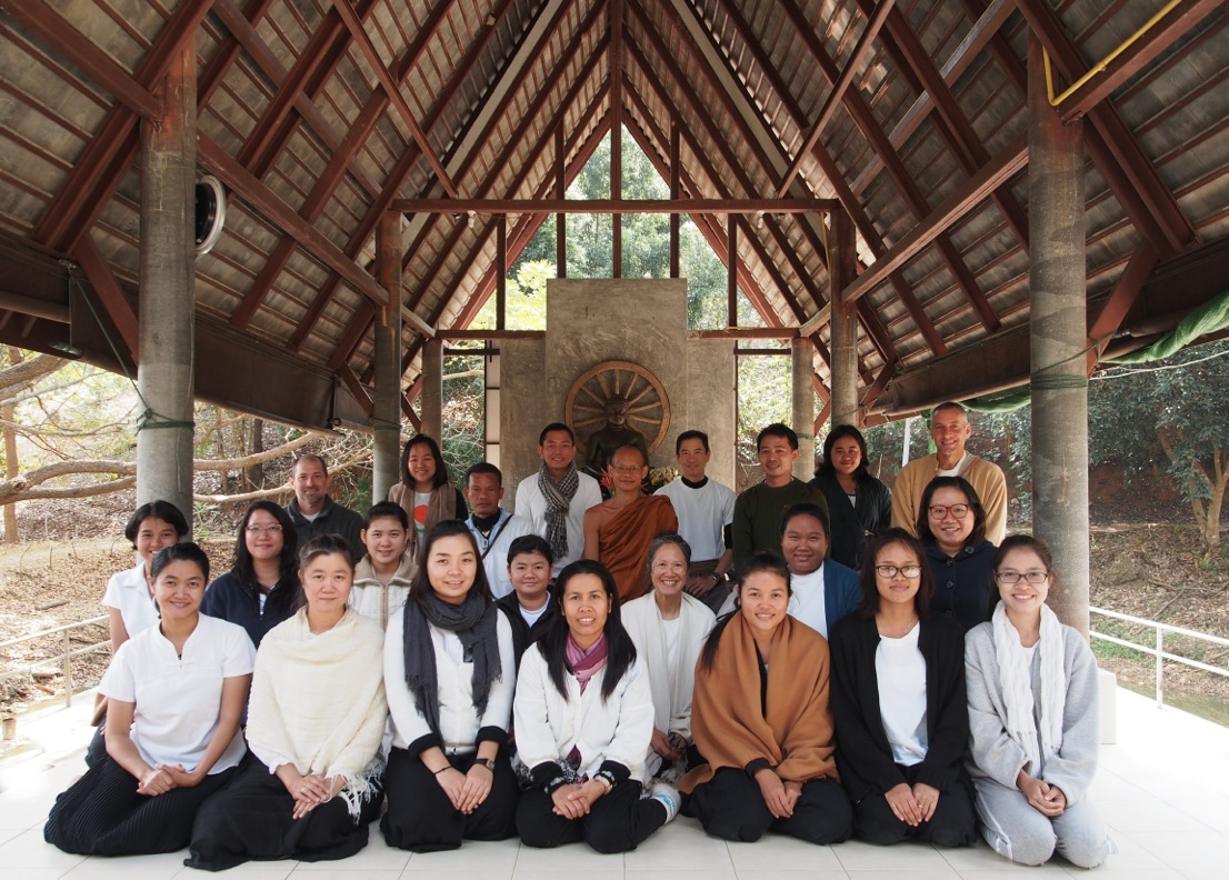 Panyaden teacher meditation retreat in Chiang Mai