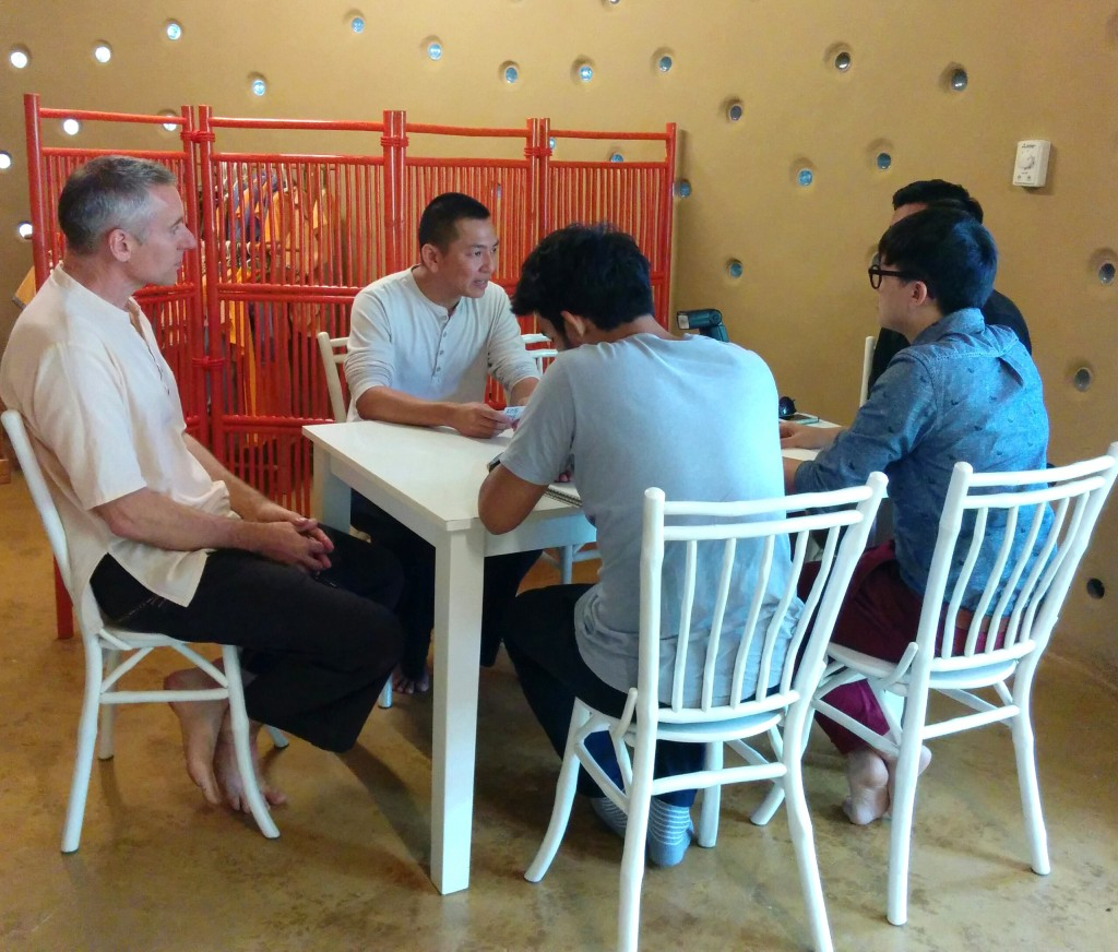 FINE DEA magazine visits Panyaden School