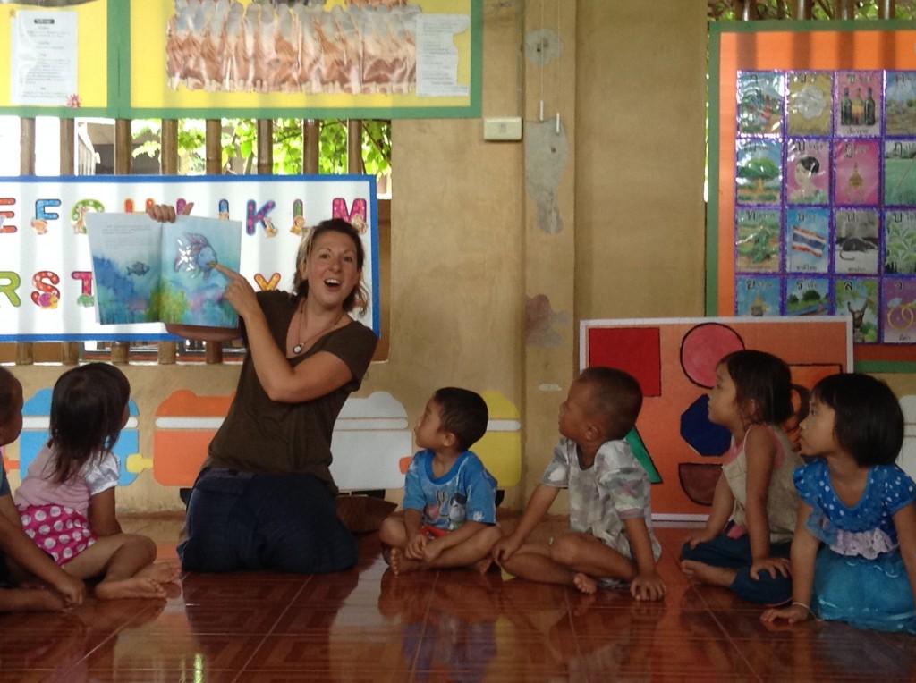 village school visit1