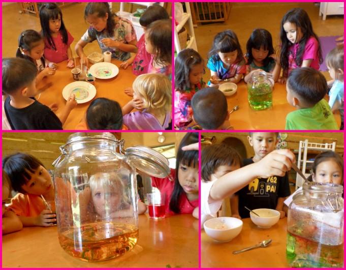 Kindergarten 2 Science - Fun with colour, Panyaden School