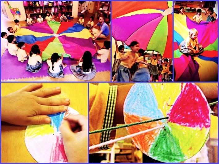 Kindergarten 2 fun with colours, Panyaden School Chiang Mai