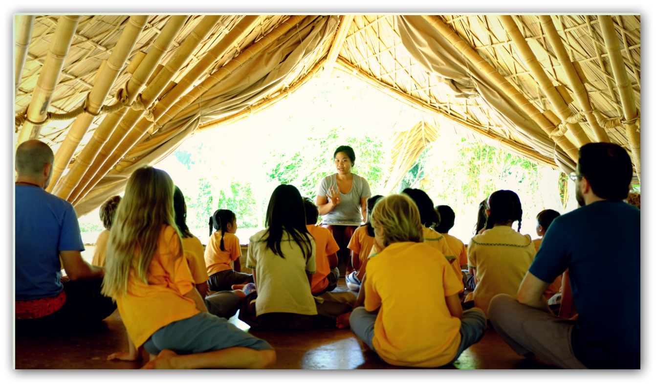 Learning about mindfulness and concentration, Panyaden School
